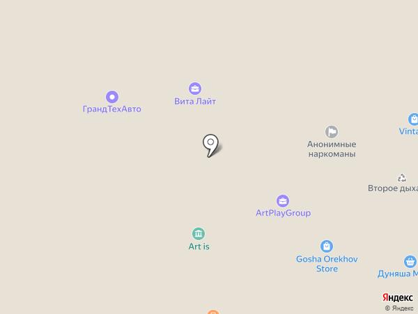 D4Living на карте Москвы