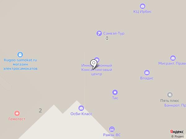 Независимый Центр Сертификации на карте Москвы