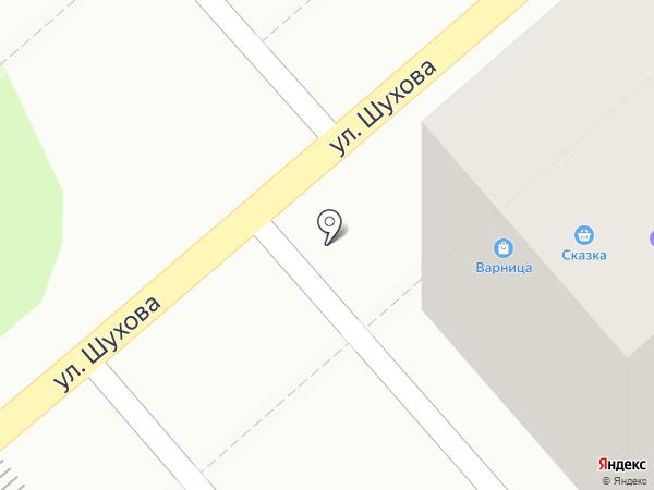 Варница на карте Тулы