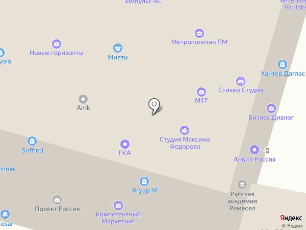 ОПТИК-МАРКЕТ+ на карте Москвы
