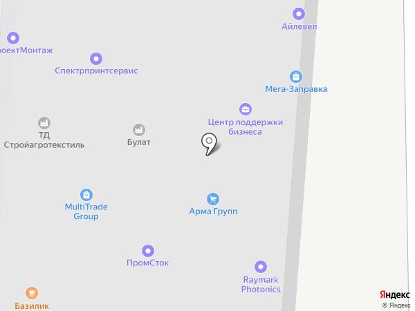 Сто метров на карте Москвы