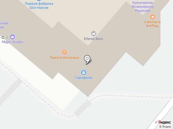 Landoor на карте Москвы