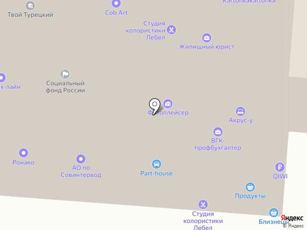 Стандарт-аудит на карте Москвы