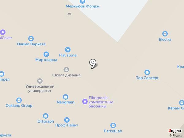 Decorf на карте Москвы
