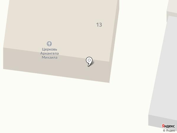 Михайло-Архангельский храм на карте Сорокино