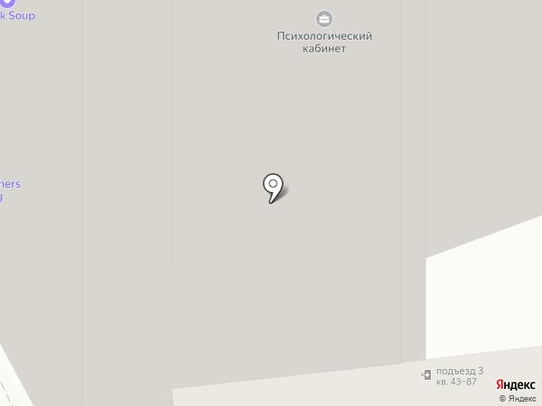 Бисан на карте Москвы
