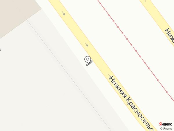 Мини-маркет на карте Москвы