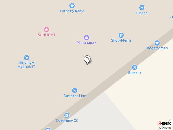 Salko.info на карте Москвы