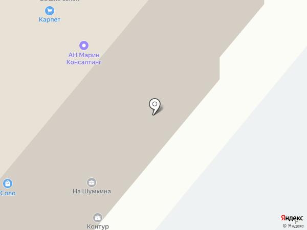 Литания-М на карте Москвы