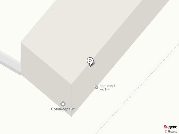 Центр дезинфекции на карте Москвы