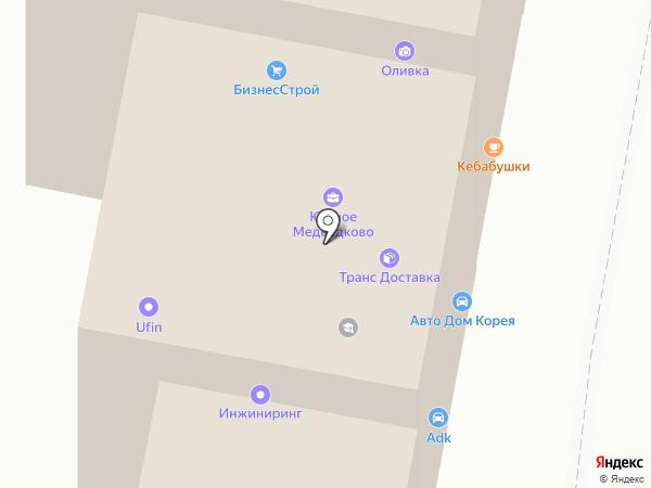 Новый город на карте Москвы