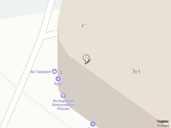 СтройЭкспо на карте Москвы