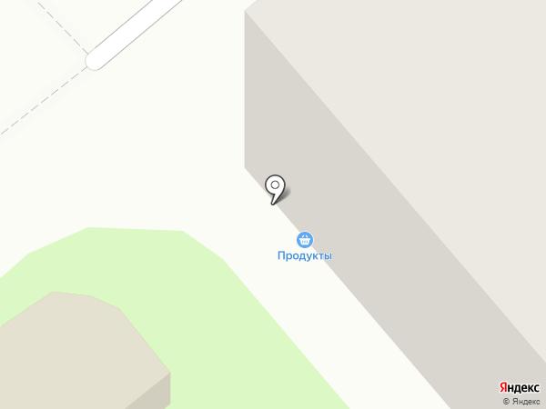 Баженовский на карте Тулы