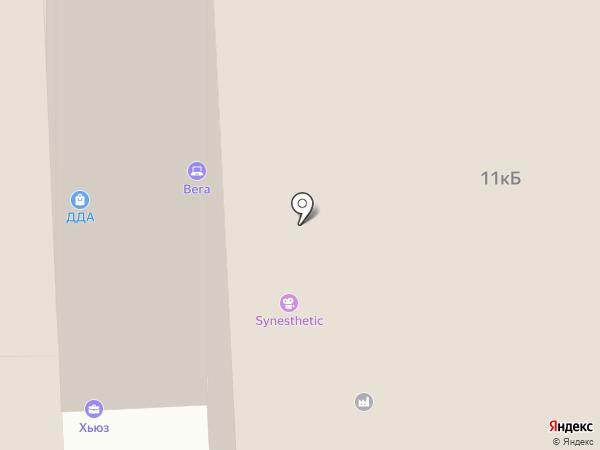 Анвизком на карте Москвы