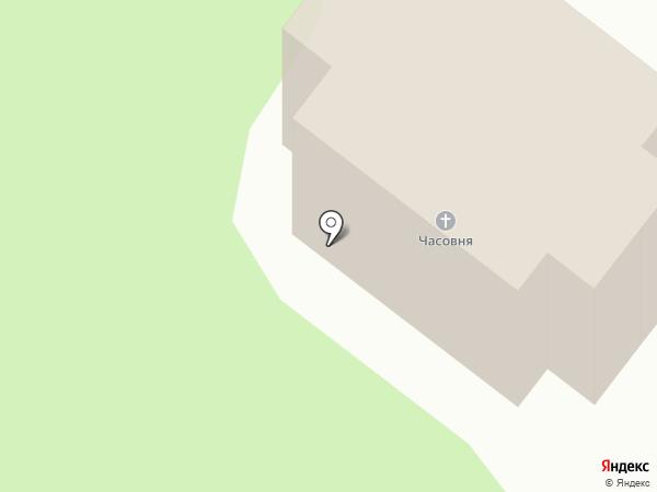 Церковь Сошествия Святого Духа на карте Лесных Полян