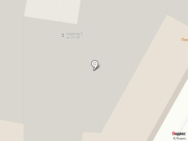 ЛучОК на карте Москвы
