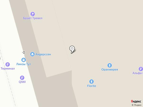 Infinity на карте Мытищ