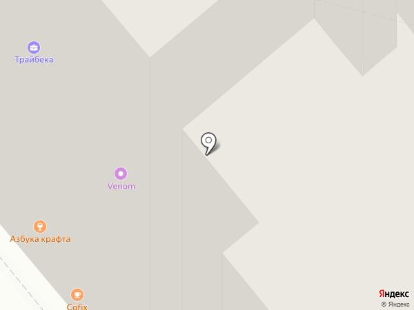 Пятерочка на карте Москвы
