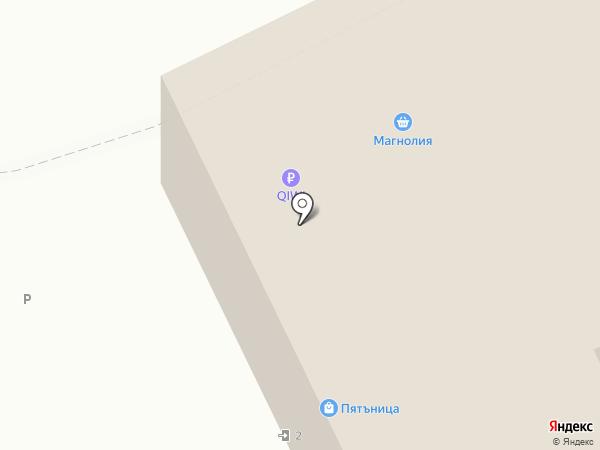 Пятьница на карте Москвы