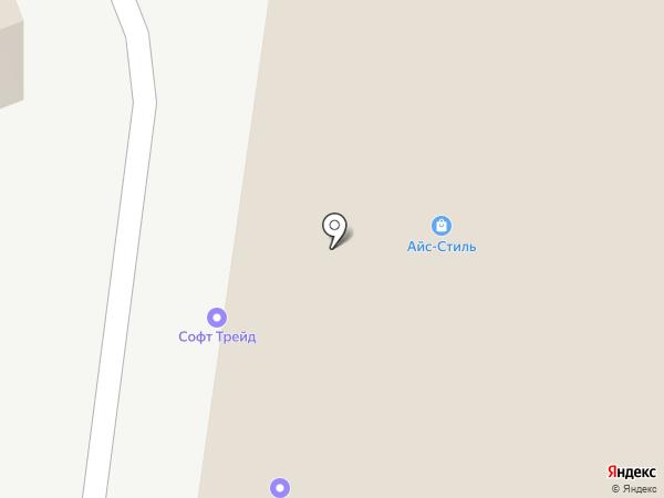 Вектурия на карте Москвы