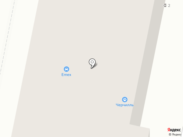 Авто-гранд на карте Москвы