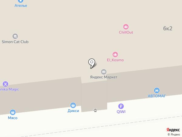 Вещь на карте Москвы