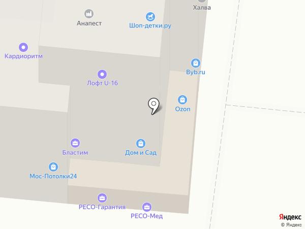 StudioPro на карте Москвы