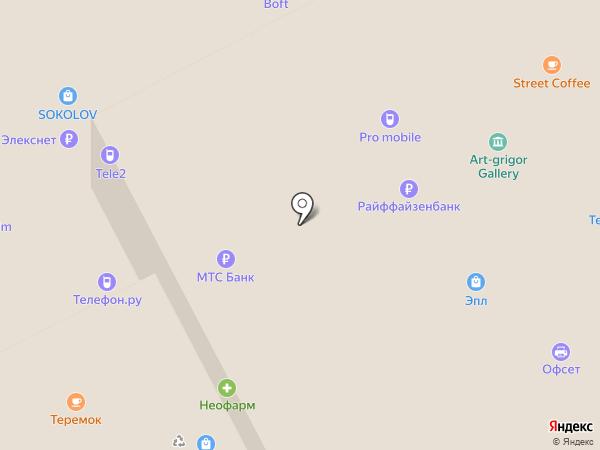 Телефон.ру на карте Москвы