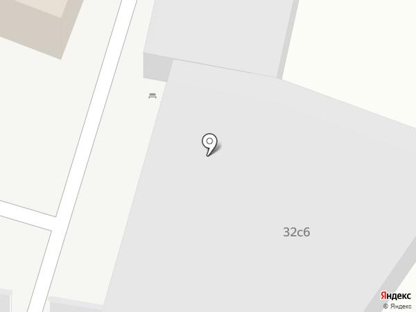 Мегаполь на карте Москвы