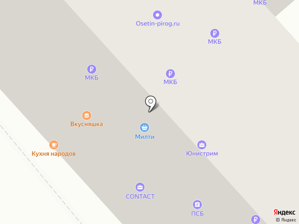 Анор на карте Москвы