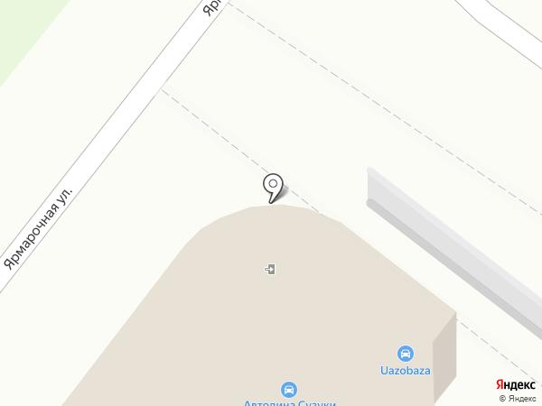 АвтоДина на карте Мытищ