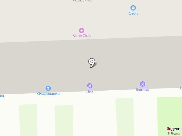 Сеть магазинов на карте Тулы