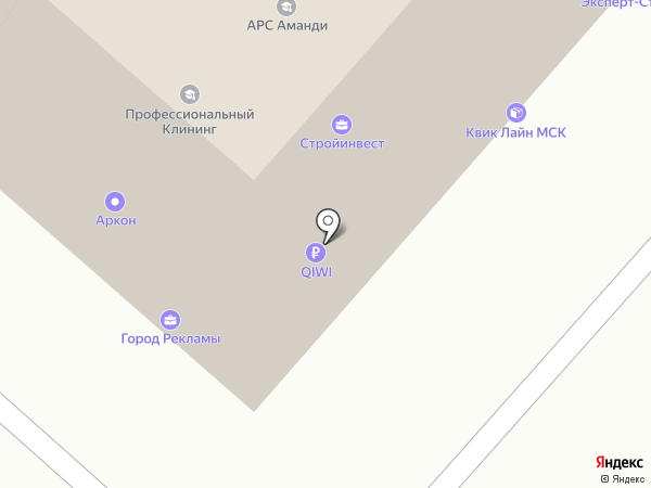 RNC PHARMA на карте Москвы