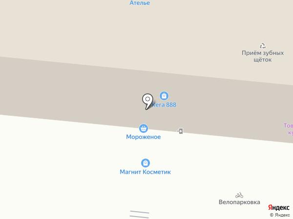 Столото на карте Москвы