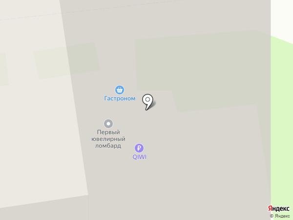 Первый Ювелирный на карте Москвы