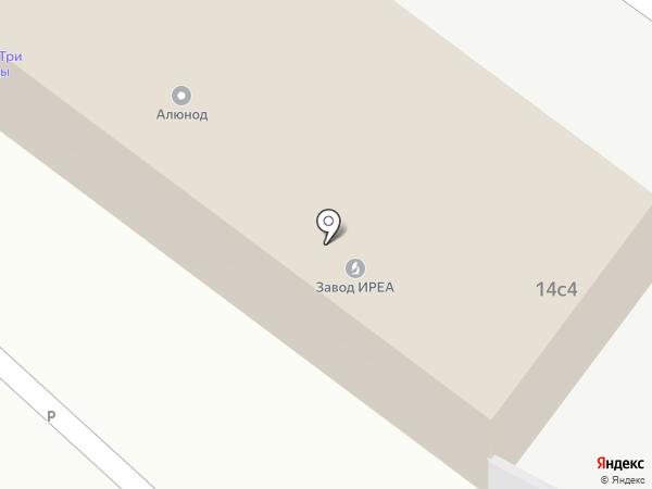 КвадраМед на карте Москвы