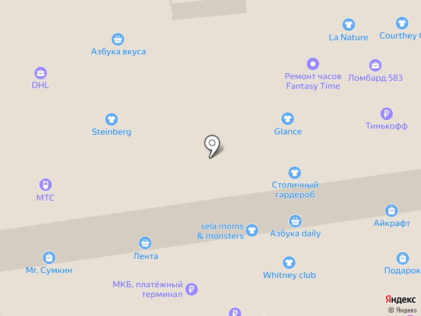 ITAITA на карте Москвы