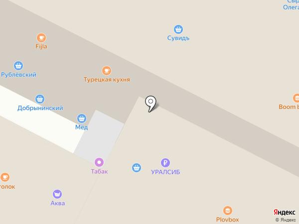 Рогожские Торговые Ряды на карте Москвы