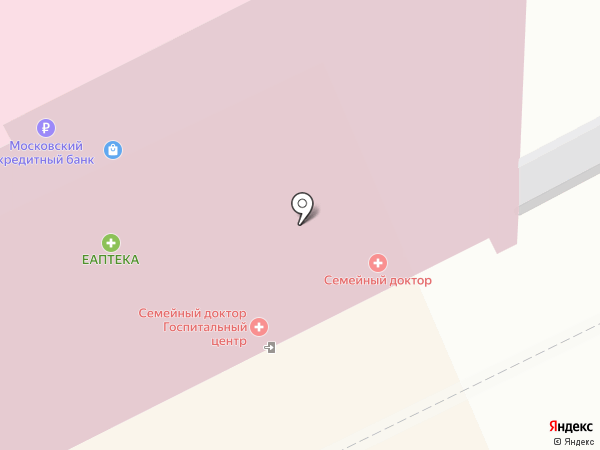 Еаптека на карте Москвы