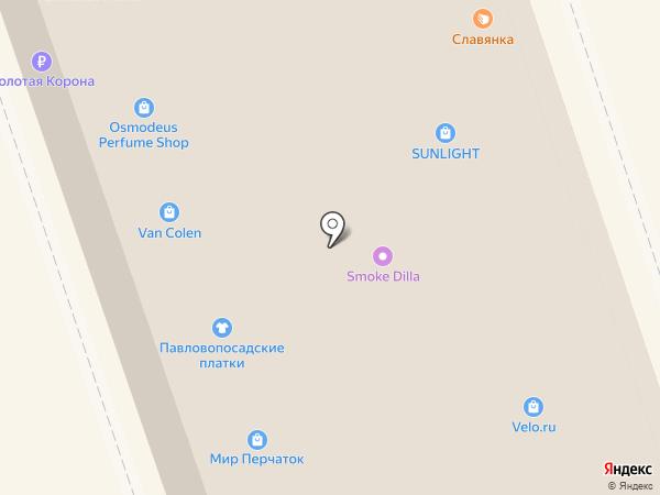 Европейская обувь в Сокольниках на карте Москвы
