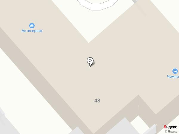 Автосервис на карте Тулы