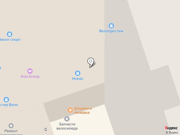 Bearbike на карте Москвы