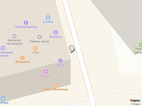 Дзинтарс-Шарм на карте Москвы