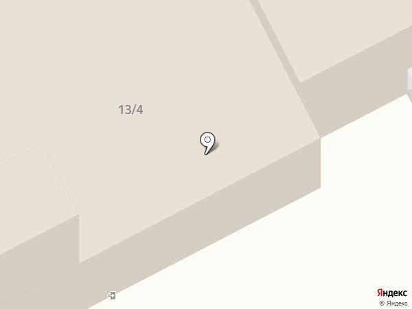 Сеть шиномонтажных мастерских на карте Москвы