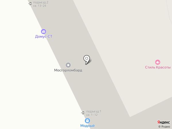 Комиссионный магазин одежды на карте Москвы