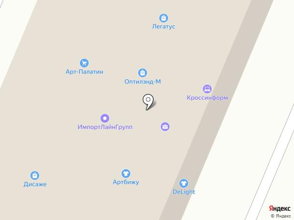 ISB на карте Москвы