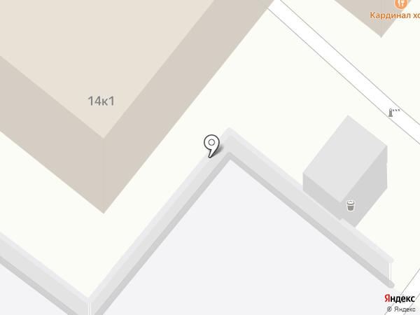 Майя-С на карте Москвы