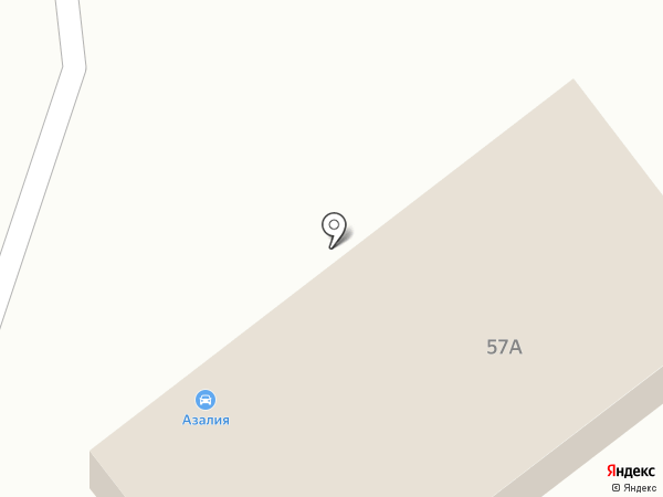 Автомойка на карте Тулы