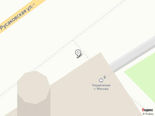 Главное управление МЧС России по г. Москве на карте Москвы