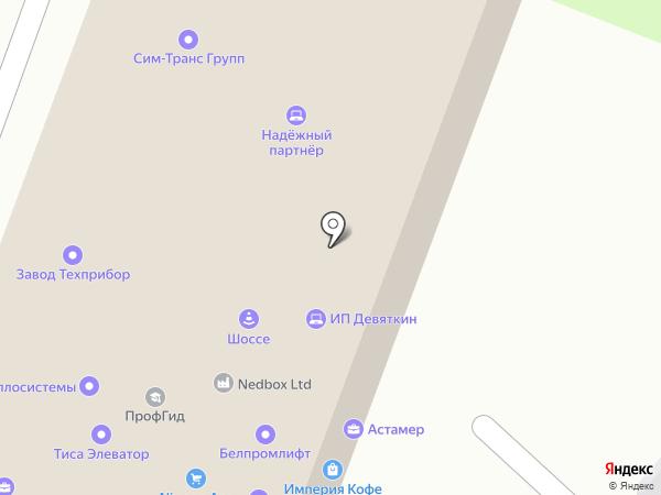 Техприбор на карте Москвы